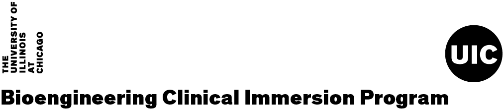 Bioengineering Clinical Immersion Program